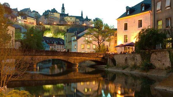 Вид на вечерний Люксембург. Архивное фото