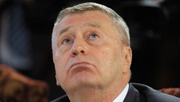 Лидер либерал-демократов Владимир Жириновский
