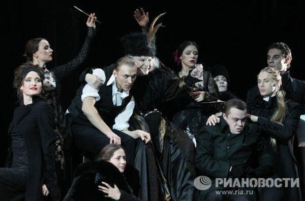 Прогон спектакля Пристань в Театре им. Вахтангова