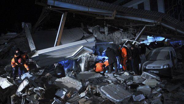 Повторное землетрясение в турецкой провинции Ван