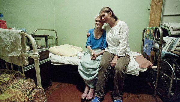 14.11.2010 вместе с волонтерской группой Старост в радость