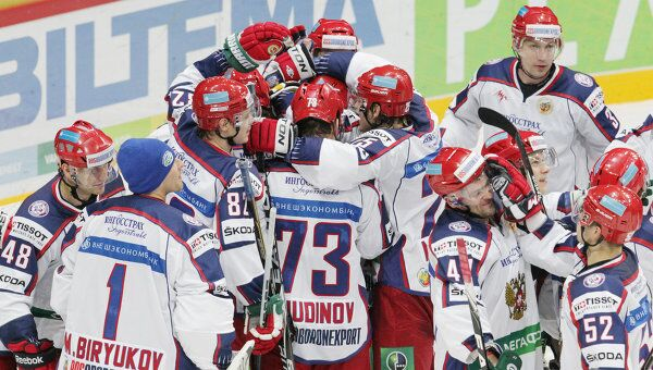 Хоккисты сборной России