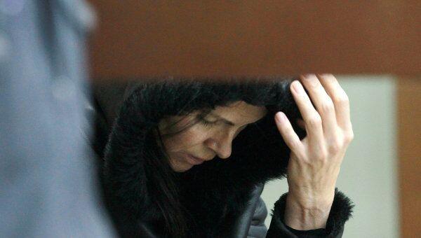 Заседание суда по рассмотрению вопроса об аресте Жанны Суворовой