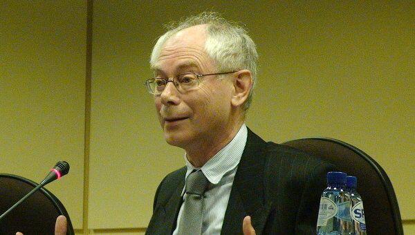 Премьер-министр Бельгии Херман Ашиль ван Ромпей
