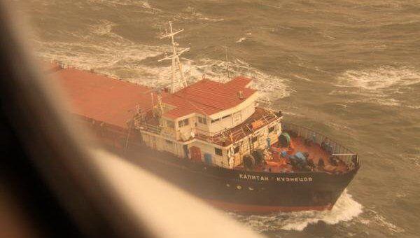 Сухогруз Капитан Кузнецов найден в Белом море
