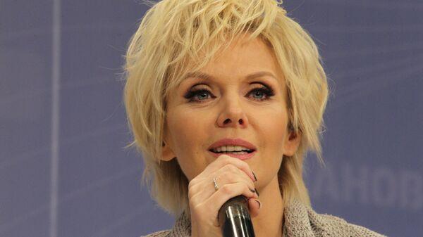 Певица Валерия