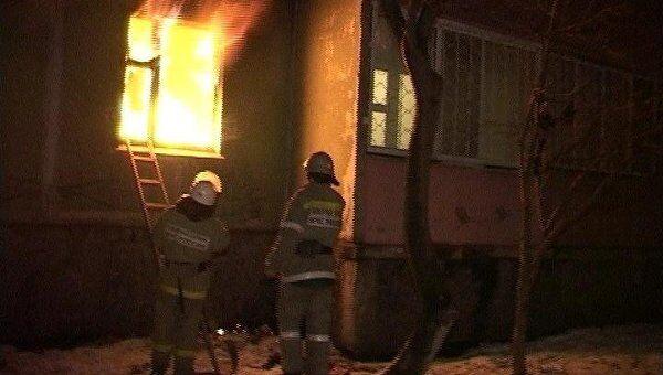 Взрыв газа в доме в Ставрополе