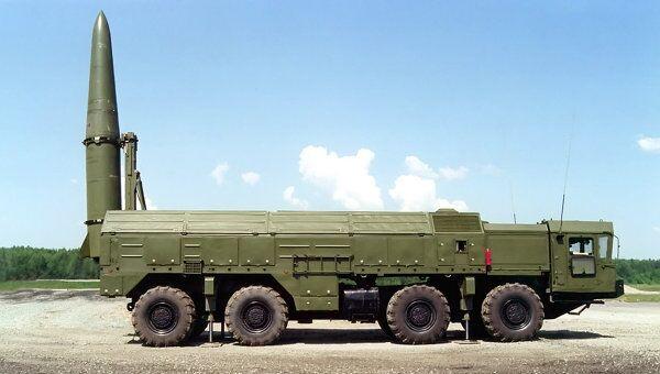 Высокоточный оперативно-тактический ракетный комплекс сухопутных войск Искандер-Э. Архив