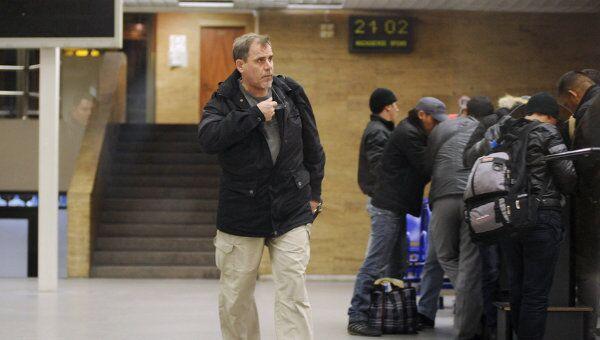 Пилот авиакомпании Rolkan Investmens Ltd Алексей Руденко прилетел в Санкт-Петербург