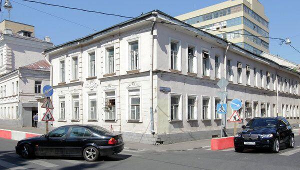 Усадьба купцов Алексеевых в Москве. Архив