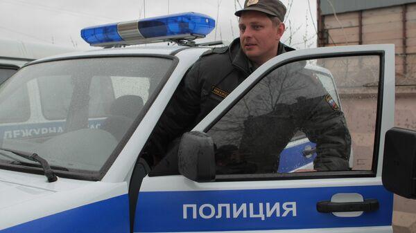 Служебные машины полиции