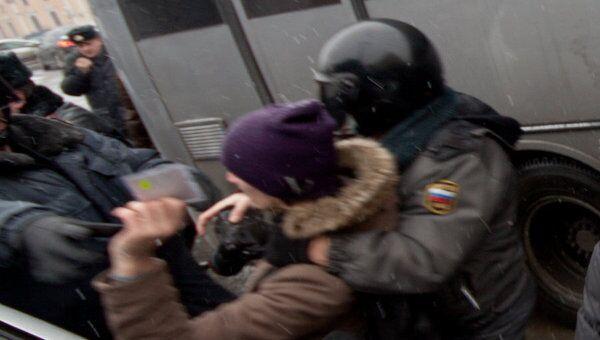 Задержания. Петербург