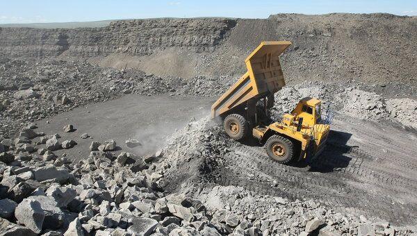 Добыча полезных ископаемых. Архивное фото