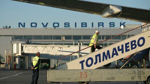 Аэропорт Толмачево, архивное фото