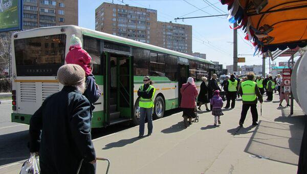 Бесплатные автобусы на Пасху в Москве. Архивное фото