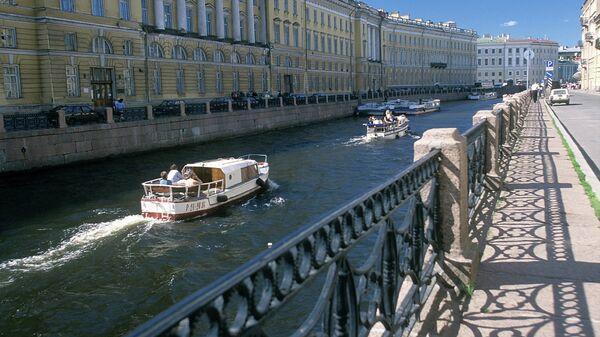 Река Мойка в Санкт-Петербурге. Архив