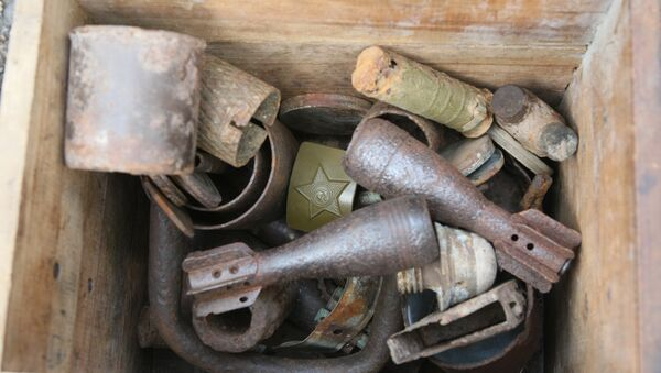 Коллекция вещей и оружия