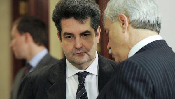 Николай Винниченко и Георгий Полтавченко