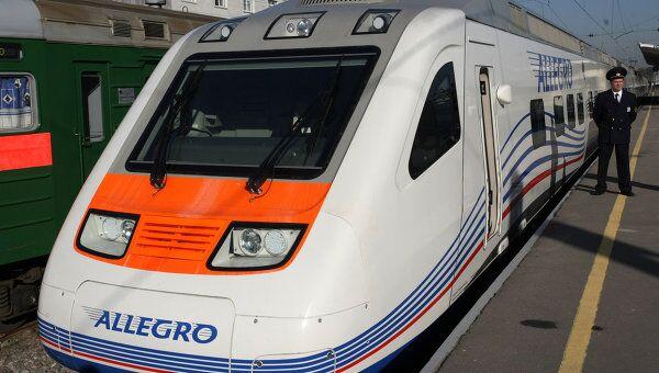 Скоростной поезд Аллегро. Архивное фото
