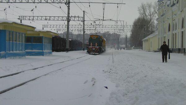 Железнодорожный вокзал Томск I, архивное фото