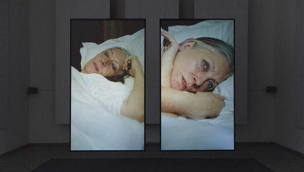 Фиона Тан. Подъем и падение. Видеоинсталляция, представленная на выставке Расширенное кино. Архив