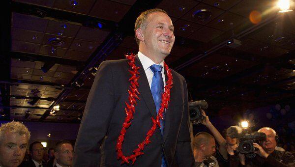 Премьер-министр Новой Зеландии Джон Кей