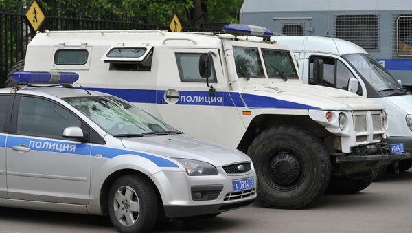 Полицейские машины. Архивное фото