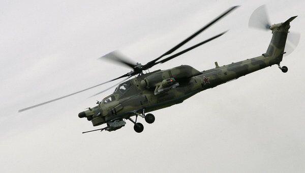 Боевой вертолет Ми-28Н. Архивное фото