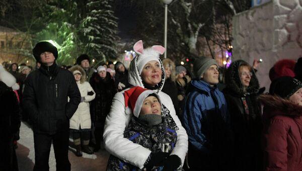 Новогодняя ночь в Томске, 2013 год