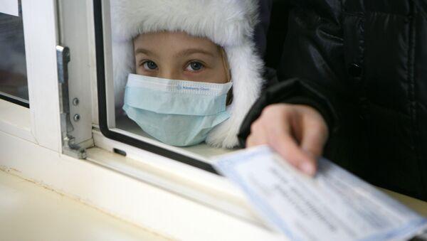 Лечение и профилактика гриппа и ОРВИ у детей. Архивное фото