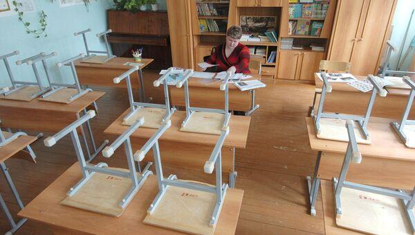 Карантин в школах. Архивное фото