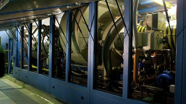 Запуск газотурбинной установки ТГК-11 на ТЭЦ-1