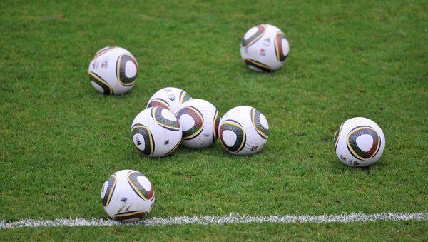 Футбольные мячи. Архивное фото