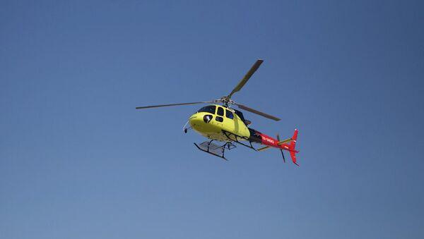 Вертолет Еврокоптер AS350. Архивное фото