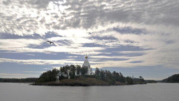 Валаамский мужской монастырь на Ладожском озере