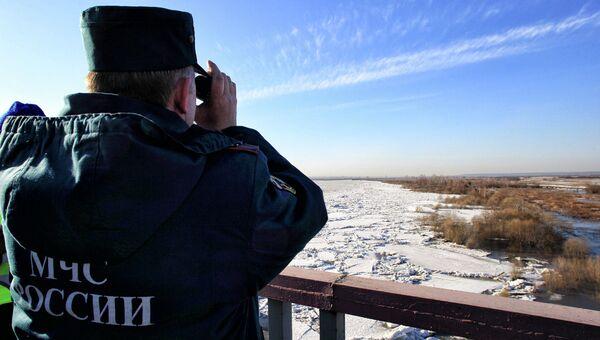 Ледоход в Томской области, архивное фото