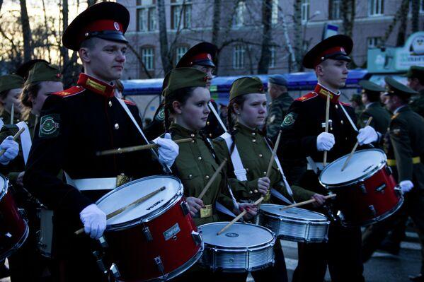 Репетиция военного парада прошла в Томске
