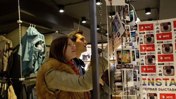 Первая выставка Instagram открылась в Томске