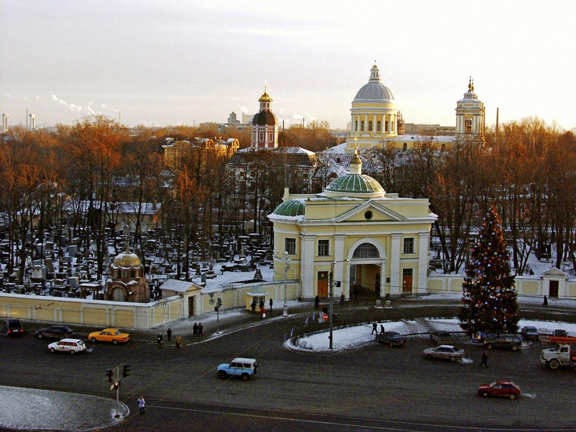 Александро-Невская Лавра в Санкт-Петербурге - РИА Новости, 1920, 18.04.2021