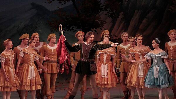 Балет Жизель в Михайловском театре
