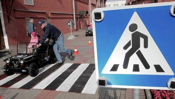 Безопасность на дорогах. Архивное фото