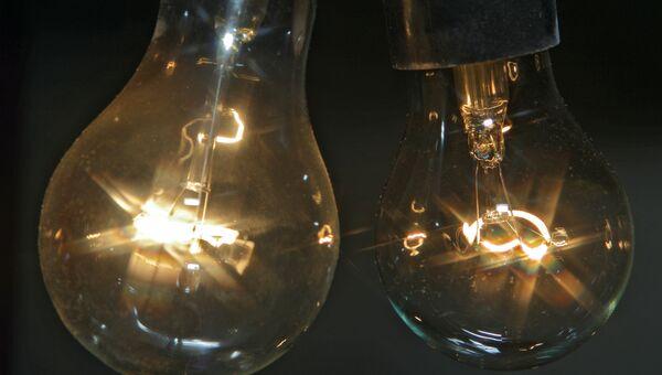 Лампы накаливания, архивное фото