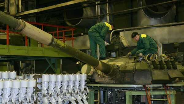 Производство танков. Архивное фото