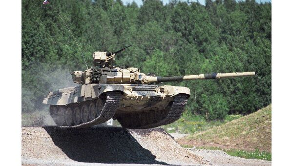 Танк Т-90 С. Архив
