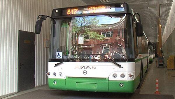 Автобусы с системой ГЛОНАСС. Архивное фото