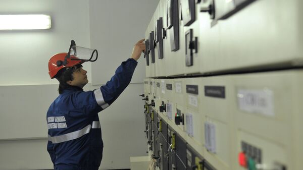 Электроподстанция в деловом центре Москва-сити