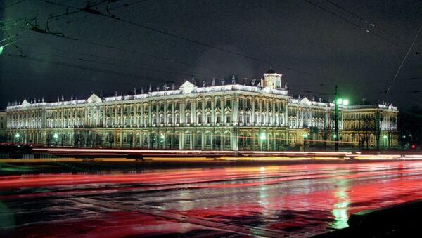 Здание Государственного Эрмитажа - Зимний дворец. Архив