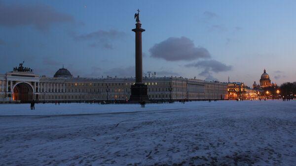 Акция Час земли в Петербурге