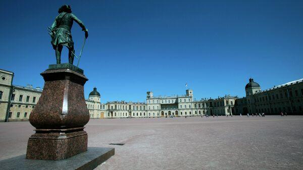Гатчинский мператорский дворец. Архивное фото
