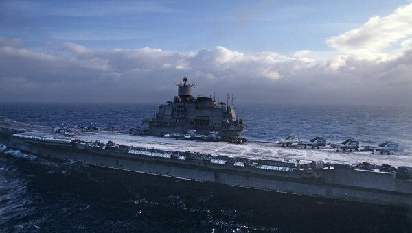 Авианесущий крейсер Адмирал Кузнецов. Архив